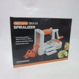 L'ABS multifonctionnel Spiralizer végétal a placé 3 lames comprises