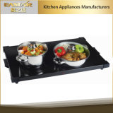 Cassetto di riscaldamento dell'alimento di colore Es-5002 400W del nero di approvazione di RoHS del Ce