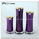 ベストセラーの高品質のアクリルの包装50mlウエストの形のアクリルのローションポンプびん