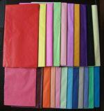papel de tecido da cor 17GSM contínua para o envolvimento de presente