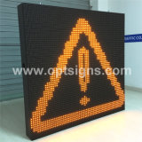 Optraffic는 변하기 쉬운 제한 속도 교통 표지 발광 다이오드 표시 스크린을 고쳤다