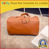 Le borse di cuoio di modo del Brown dei fornitori cinesi più poco costosi con le nappe