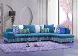 Sofá real clásico de la tela de los muebles caseros (UL-NS477)