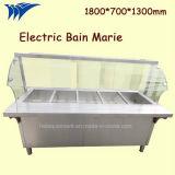 Heißer verkaufender elektrischer Wasserbad-Dampf-Tisch für Buffet