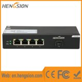 Interruptor do Ethernet do acesso do SFP de 4 gigabits Tx e de 1 gigabit