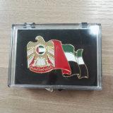 Новый развеванный значок эмблемы сокола флага на UAE национальный праздник 45 год, горячий продавать!
