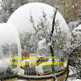 Tipo inflável barraca da barraca de acampamento inflável da bolha da barraca da abóbada do espaço livre