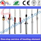 Tipo industrial calentador del borde del acero inoxidable del elemento de calefacción del cartucho