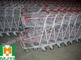 두 배 수평 쇼핑 트롤리 신식 쇼핑 카트