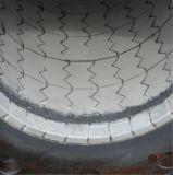 Desgaste - fabricantes alineados de cerámica resistentes de los tubos de acero