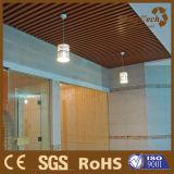 Matériau artistique de plafond/plafond composé en plastique en bois pour la décoration d'hôtel