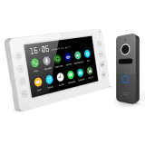 Geheugen 7 van de Intercom van de Deurbel Duim van de Veiligheid VideoDoorphone van het Huis