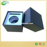 La capa ULTRAVIOLETA de la textura del punto azul marino crea los rectángulos para requisitos particulares con el embutido protector (CKT-PB-115)