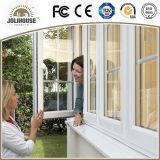 Kundenspezifisches UPVC Flügelfenster Windowss der gute Qualitätsfabrik
