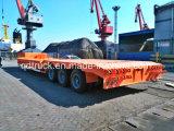 Da 80 tonnellate della base rimorchio basso resistente del camion semi