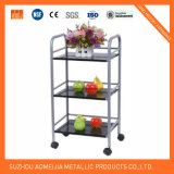 Trolley de aço inoxidável Home Trolley Kitchen Trolleys