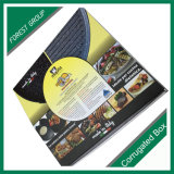 Los alimentos de preparación rápida calientes quitan el rectángulo de empaquetado de papel del alimento del rectángulo del alimento