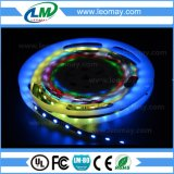 IC1903 SMD5050RGB 300LEDs por tira flexible de la raya LED del carrete