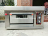Hete Verkoop 1 Dek 1 de Oven van het Gas van het Dienblad voor het Baksel van het Brood