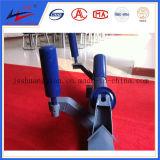Transportador de correa a través de la rueda loca de la guirnalda de la rueda loca del portador del rodillo