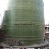 建築現場で製造されたFRPの大きいタンク