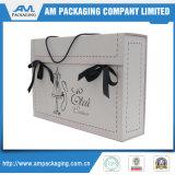 Boutique Caja de lujo de la venta caliente para la ropa de la manera que empaqueta la caja portable para las faldas