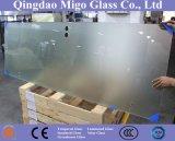 Vidro temperado / temperado de 6mm 8mm para portas de chuveiro / caixas / telas