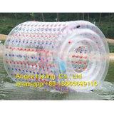 Juegos inflables del agua de PVC&TPU para el rodillo que recorre de los cabritos