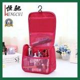 Bolso cosmético acolchado portable de la colada del maquillaje para viajar