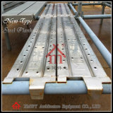 De Plank van de Steiger van het Staal van de bouw