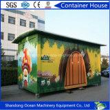 Modulair Huis van Huis van de Container van de Structuur van het Staal het Modulaire/Modulair PrefabHuis