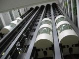 Ascenseur/levage panoramiques circulaires