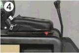 높은 비용 성과 AC 모터 1t 3 바퀴 전기 포크리프트
