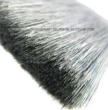 Verschiedene Größen-Qualitäts-Kaiser-Art-natürliche schwarze Borste Pinsel Satz mit schwarzem Kunststoffgriff