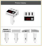 Heißer verkaufender FreisprechBluetooth FM Übermittler mit Auto-Aufladeeinheit USB-3 (BC12)