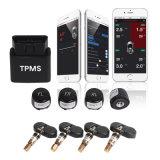 Sistema de monitorización de la presión de los neumáticos de TPMS Bluetooth del coche del OEM