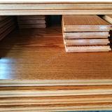 Bois dur parquetant le plancher en bois de Prifinished de chêne de /White de chêne rouge
