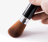 OEM / ODM acceptable cheveux synthétiques Tube flexible Blush Brush.