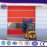Porta exterior de alta velocidade durável comercial industrial