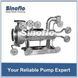 Nicht-kühlende Nicht-Dichtung eingemachte Hochtemperaturmotor-Pumpe