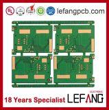 1.6mm 4 Schichten Zugriffssteuerung-Systems-Leiterplatte Schaltkarte-