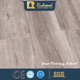 suelo de madera de madera laminado laminado resistente de agua de 12.3m m E1 AC3