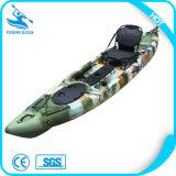De goedkope Kajak van de Visserij van de Kano van China Plastic met de Toebehoren van de Kajak