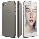 Tampa transparente geada magro da caixa do telefone dos PP para o iPhone 7