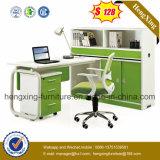 Hölzerner Sitzbüro-Partition-Arbeitsplatz der Büro-Möbel-4 (HX-PT5074)