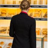 Vêtements de travail occidentaux de serveurs et de serveuses de restaurant d'uniformes d'hôtel