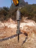 Divisor hidráulico da rocha da máquina escavadora grande para a pedreira