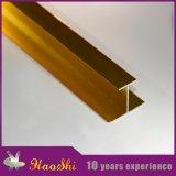 Anodisé/a poli le profil en aluminium de bordure avec les triangles de poinçon