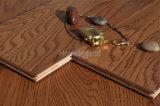 Suelo de madera dirigido roble natural de la chapa de Retrostyle/suelo de la madera dura