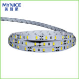 DV12V 60LED / M SMD2835 Franja flexible del LED